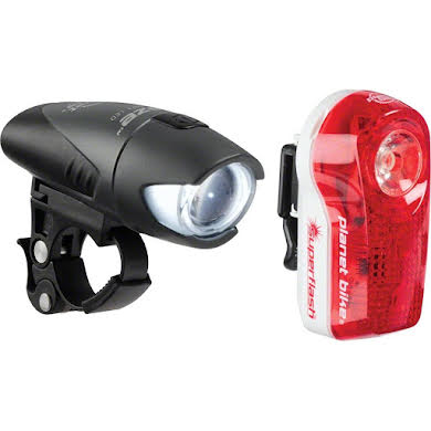Planet Bike Blaze 1/2 watt Headlight and Superflash Taillight Set