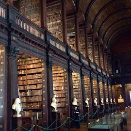 Book of Kelly's, Trinity College, Dublin, Ireland by Ginny Serio - Instagram & Mobile iPhone