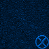 Leather XZ Blue Theme