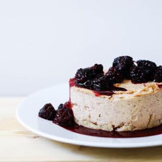 Vegan Almond Butter Coconut Cheesecake