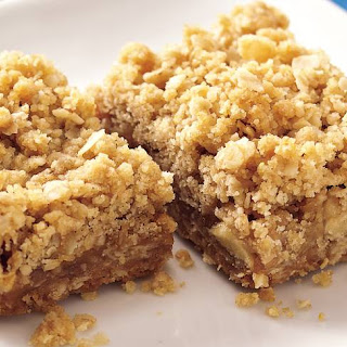 Caramel Apple-Nut Bars.
