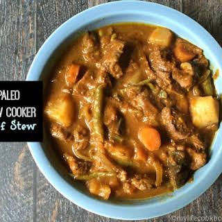 Paleo Slow Cooker Beef Stew.