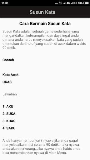 Susun Kata 1.1.2 screenshots 3
