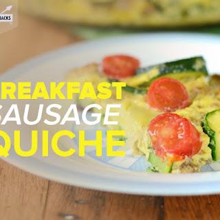 Breakfast Sausage QuicheRecipe by Heather Resler
