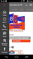 Screenshot of Hunters Bay Radio