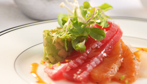 izumi-fare.jpg - Royal Caribbean's Izumi is known for sushi, sashimi and other fresh fare.