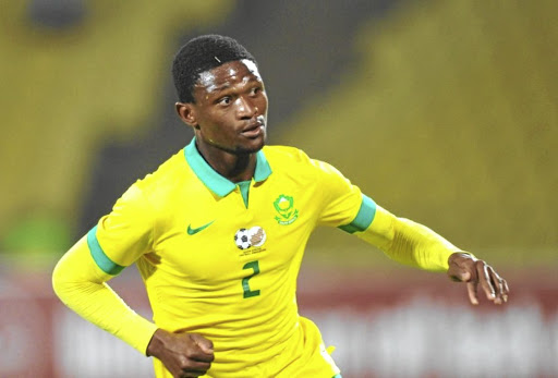 Mamelodi Sundowns defender Motjeka Madisha has set his sights on the big time again with Bafana Bafana.