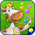 Music game: Dance with animals icon