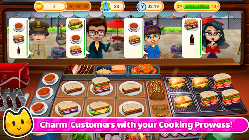 Chef Cat Ava ud83dude3a Gourmet Seafood Roast ud83dude0b Salad bar  screenshots 14