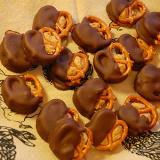 Peanut Butter Buckeye Pretzels