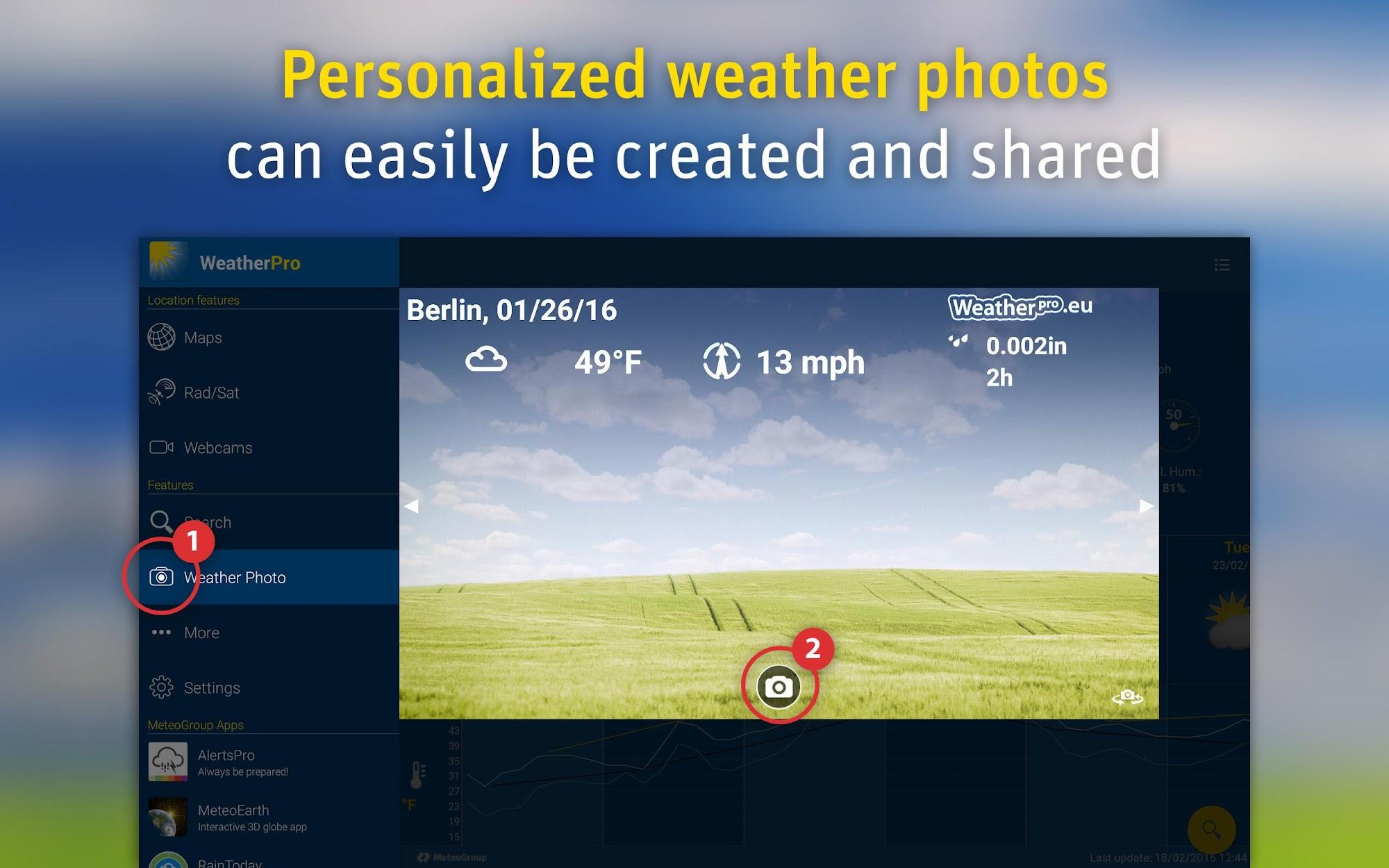 WeatherPro screenshot #10