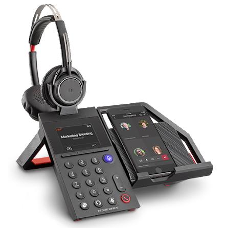 Plantronics Elara 60 WS med Voyager Focus headset