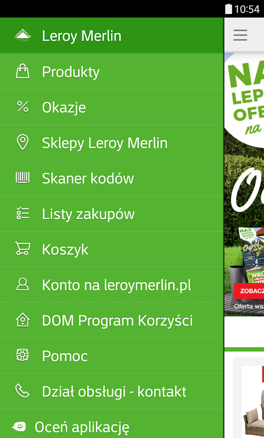 Leroy Merlin Polska- screenshot