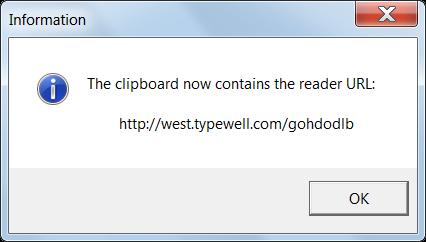 clipboard confirmation