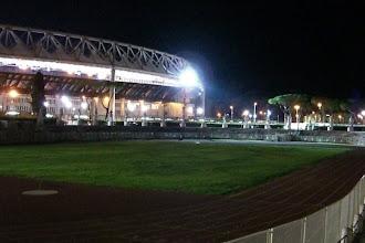 Photo: Outside Olympic Stadium