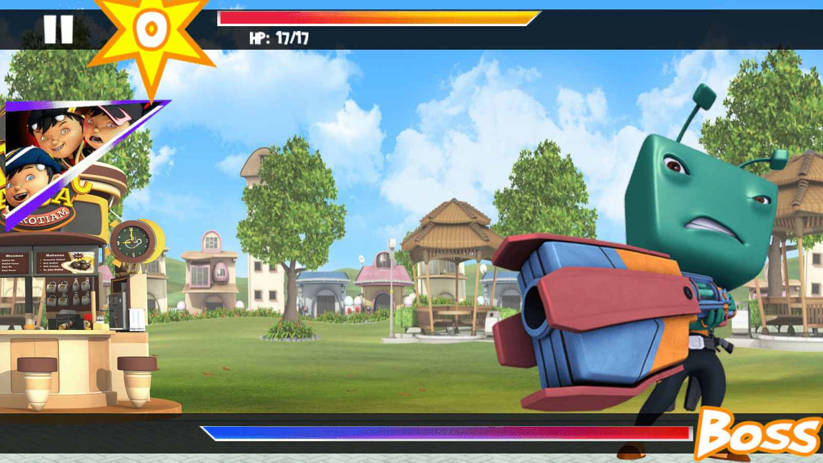 BoBoiBoy: Ejojo Attacks- screenshot
