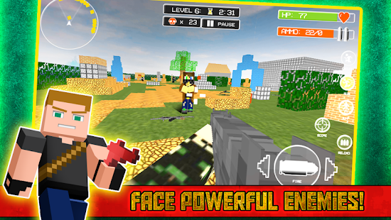 2 Survival Games Block Island App screenshot