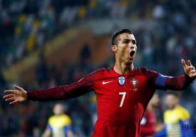Cristiano Ronaldo rolt Andorra helemaal op, ook Nederland won