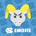 UNC Tar Heels Emojis icon