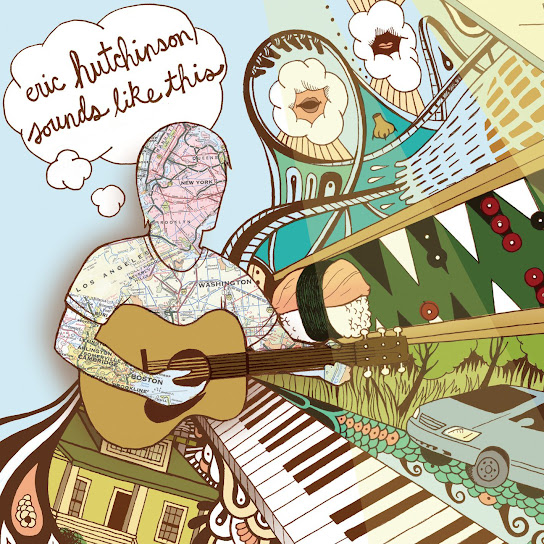 Album cover art for Eric Hutchinson's 'Sounds Like This'