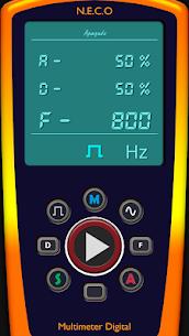 Multimeter/Oscilloscope/Sound Generator v2.0.1 (SAP) (Paid) 2