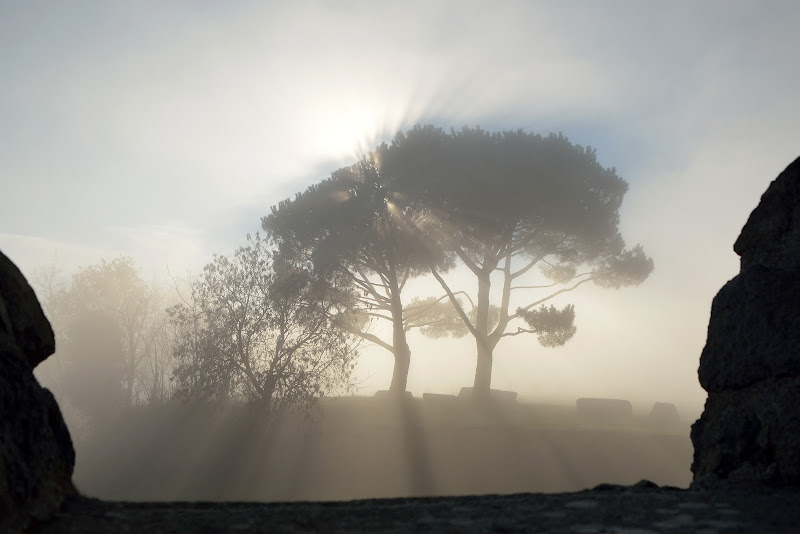 Mentre si alza la nebbia di albertoschiavoimmagini