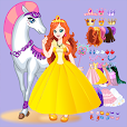 White Horse Princess Dress Up file APK for Gaming PC/PS3/PS4 Smart TV