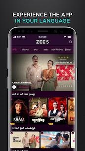 ZEE5 MOD APK 20.0.18.0 (Premium) 5