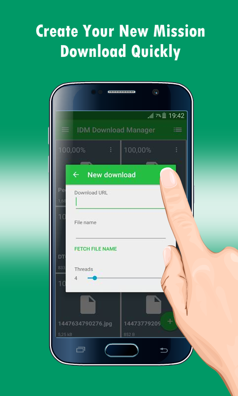 google download manager android