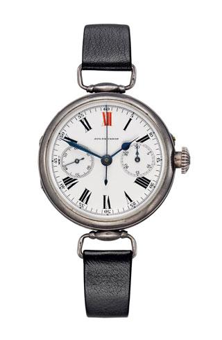 1913 longines develop first calibre for wristwatch with single push piece 1333z