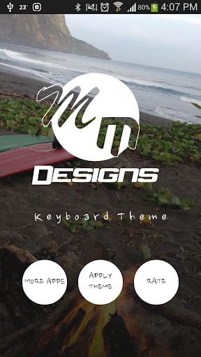 Beach Paradise GO Keyboard