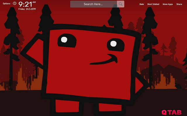 Super Meat Boy Forever Wallpapers Hd Theme