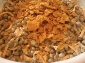 Corn Chip Black-eyed & Green Pea Salad Recipe
