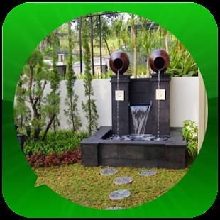 Ornamentální rybník design - náhled