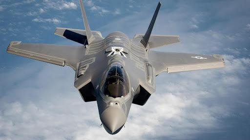 Fighter aircraft. Wallpaper