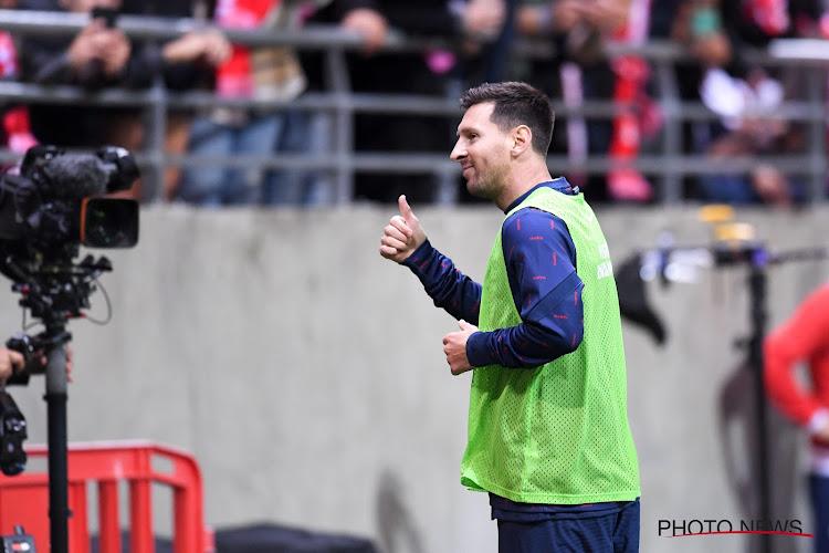 Lionel Messi absent plus d'un match ?