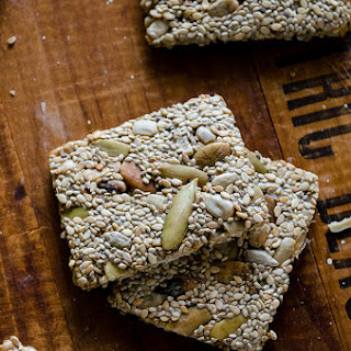 Super Seed Energy Crackers (Gluten Free)