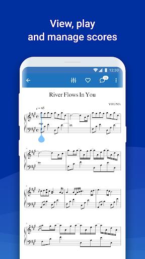 MuseScore: view and play sheet music 2.5.25 screenshots 3