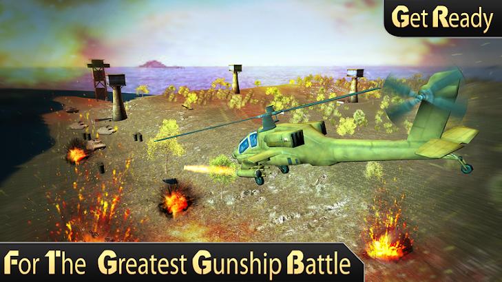 Army Helicopter Gunship Strike screenshot