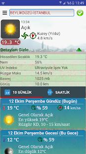 Türkiye Saatlik Hava Durumu - náhled