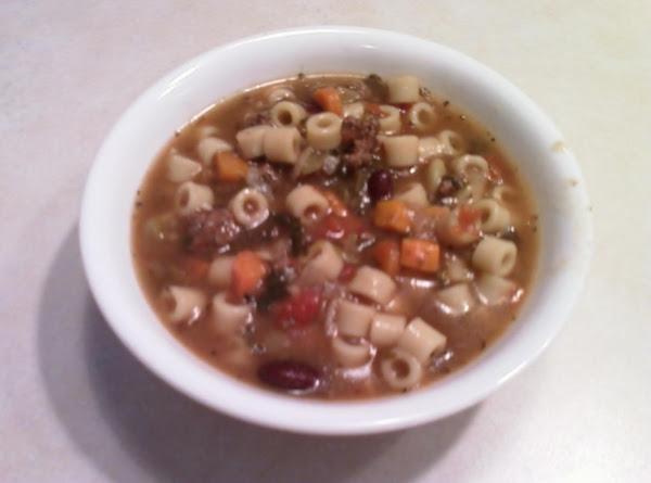 Minestone Soup Recipe
