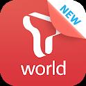 T world icon