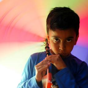 Colourful motion-2 by Swarup Roy Chowdhury - Babies & Children Child Portraits ( colour, child, babies, candid, portraits )