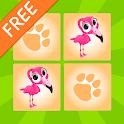 Kids Animal Matching Game Free icon