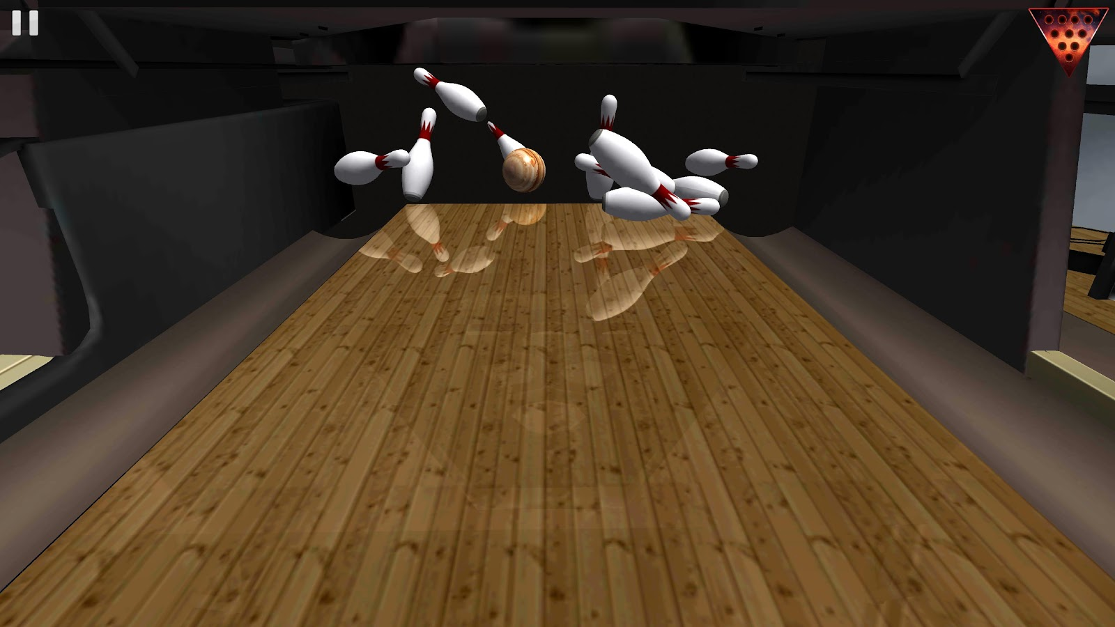 Galaxy Bowling 3D Free- screenshot
