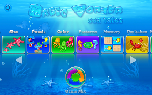 Magic Sorter:10 games for kids- screenshot thumbnail