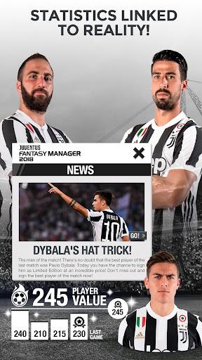Juventus Fantasy Manager 2018 - EU champion league  screenshots 4