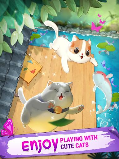Télécharger Gratuit Merge cats - Meowaii Garden  APK MOD (Astuce) screenshots 6
