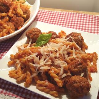 Pressure Cooker Soccer Mom Spaghetti and Meatballs.