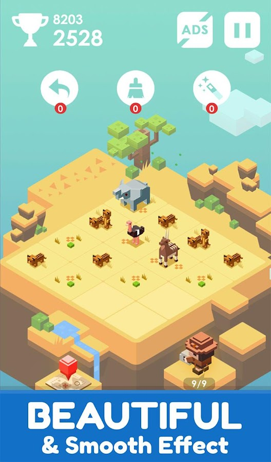 Journey of 2048- screenshot